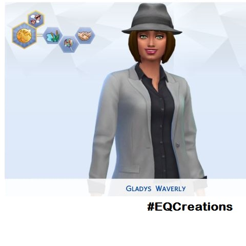 Adventures in CAS #EQCreations Gladys10