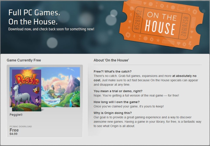 Origin On The House Free Game: Ultima™ 8 Gold Edition  (1994)  Peggle10