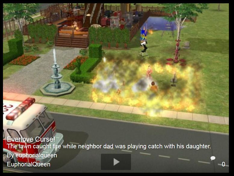 Sharing Memorable Sims Moments Ts2_la10
