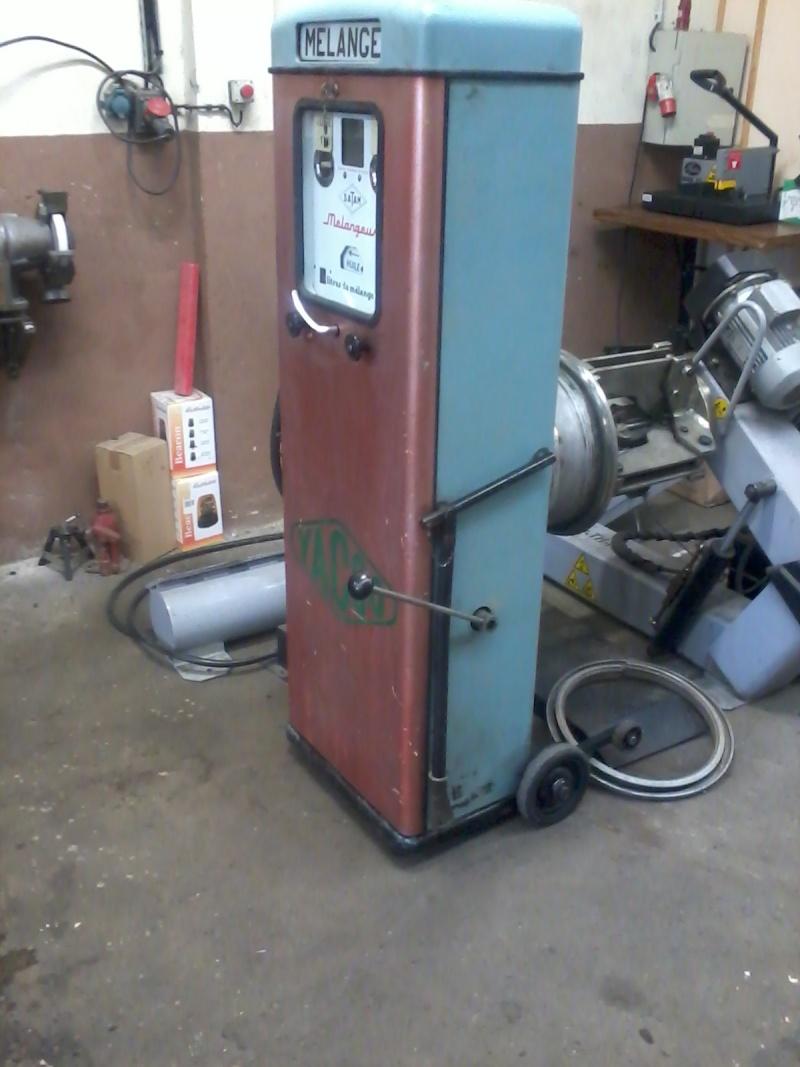 Pompe mélangeur SATAM de 1957(nouvelle arrivée à l'atelier RETRO !) Photo032