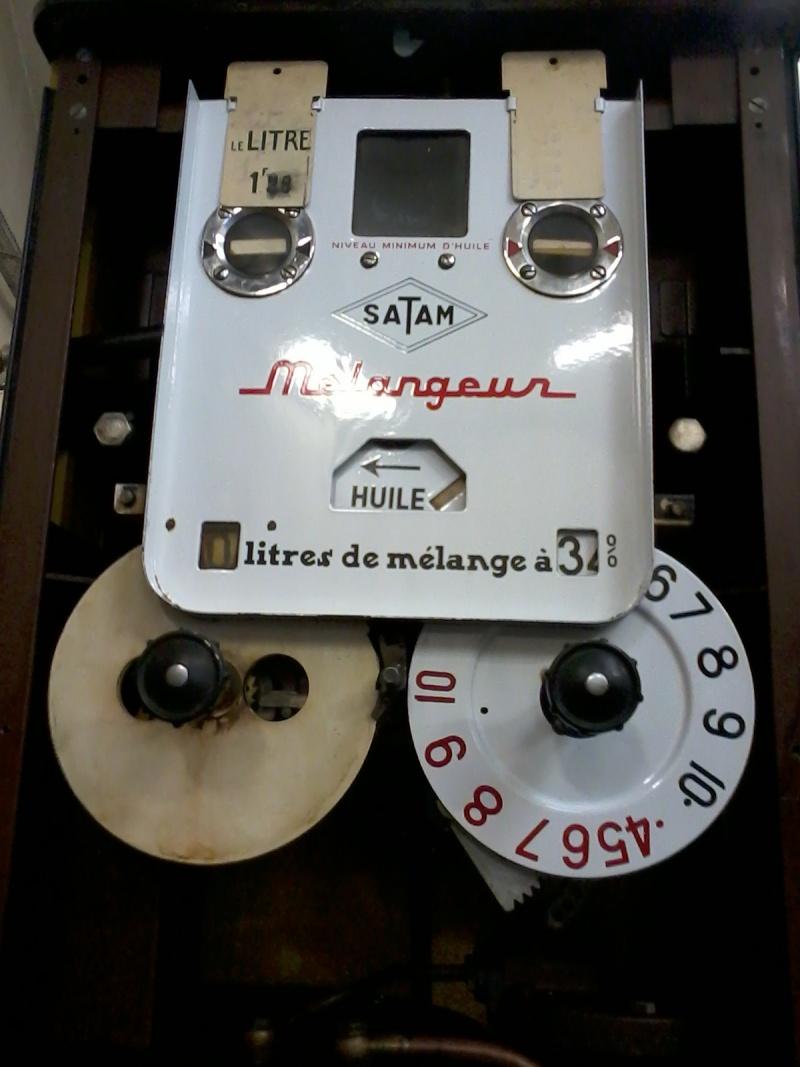 Pompe mélangeur SATAM de 1957(nouvelle arrivée à l'atelier RETRO !) Photo034