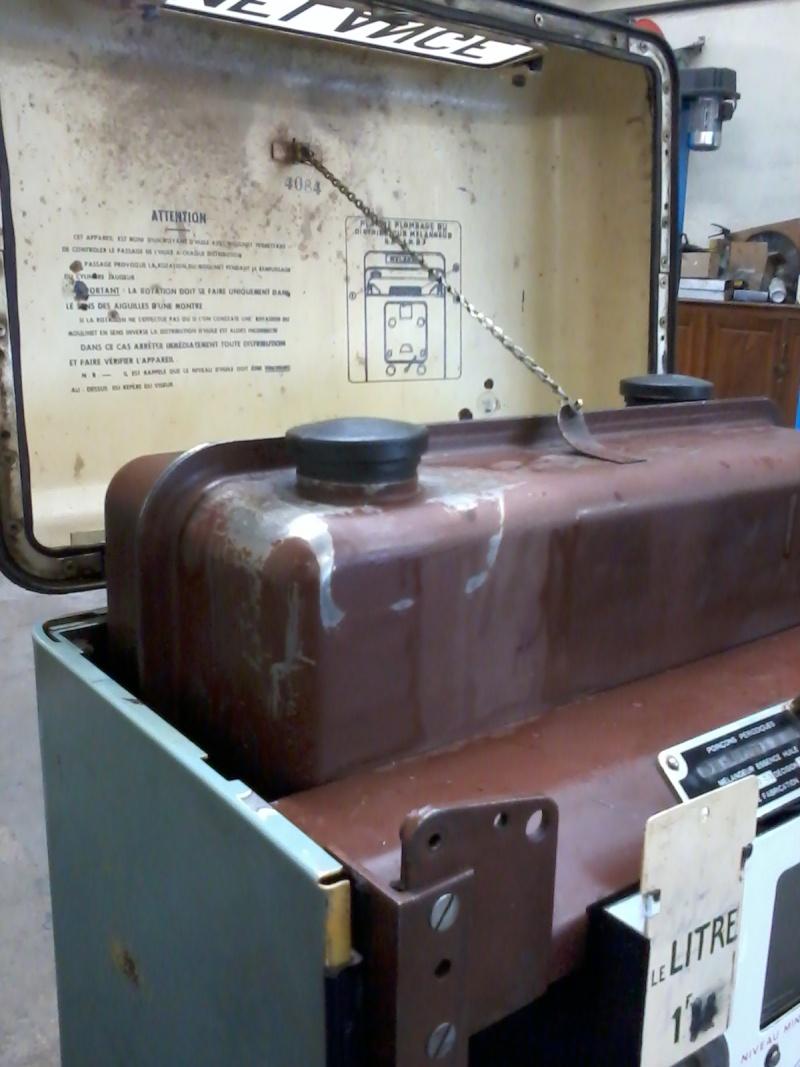 Pompe mélangeur SATAM de 1957(nouvelle arrivée à l'atelier RETRO !) Photo037