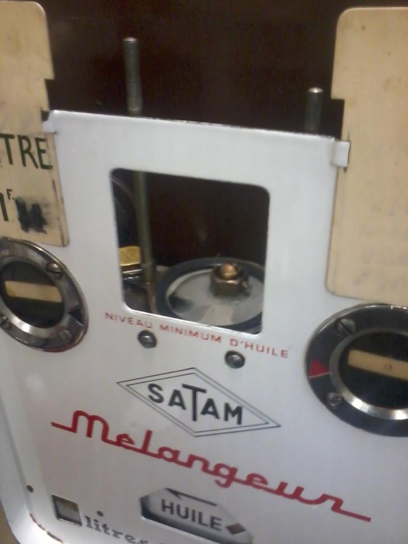 Pompe mélangeur SATAM de 1957(nouvelle arrivée à l'atelier RETRO !) Photo039