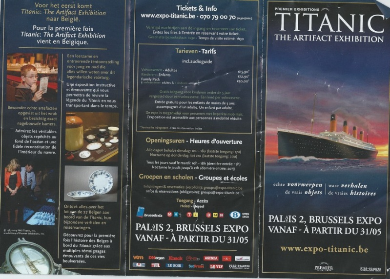 Exposition Titanic du 31 mai au 30 novembre 2014 à Bruxelles - Page 4 Brochu10