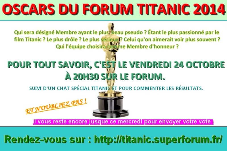 Les oscars du forum Titanic 2014 Oscars10