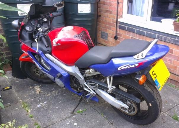 Honda CBR 600 Fx Jane110