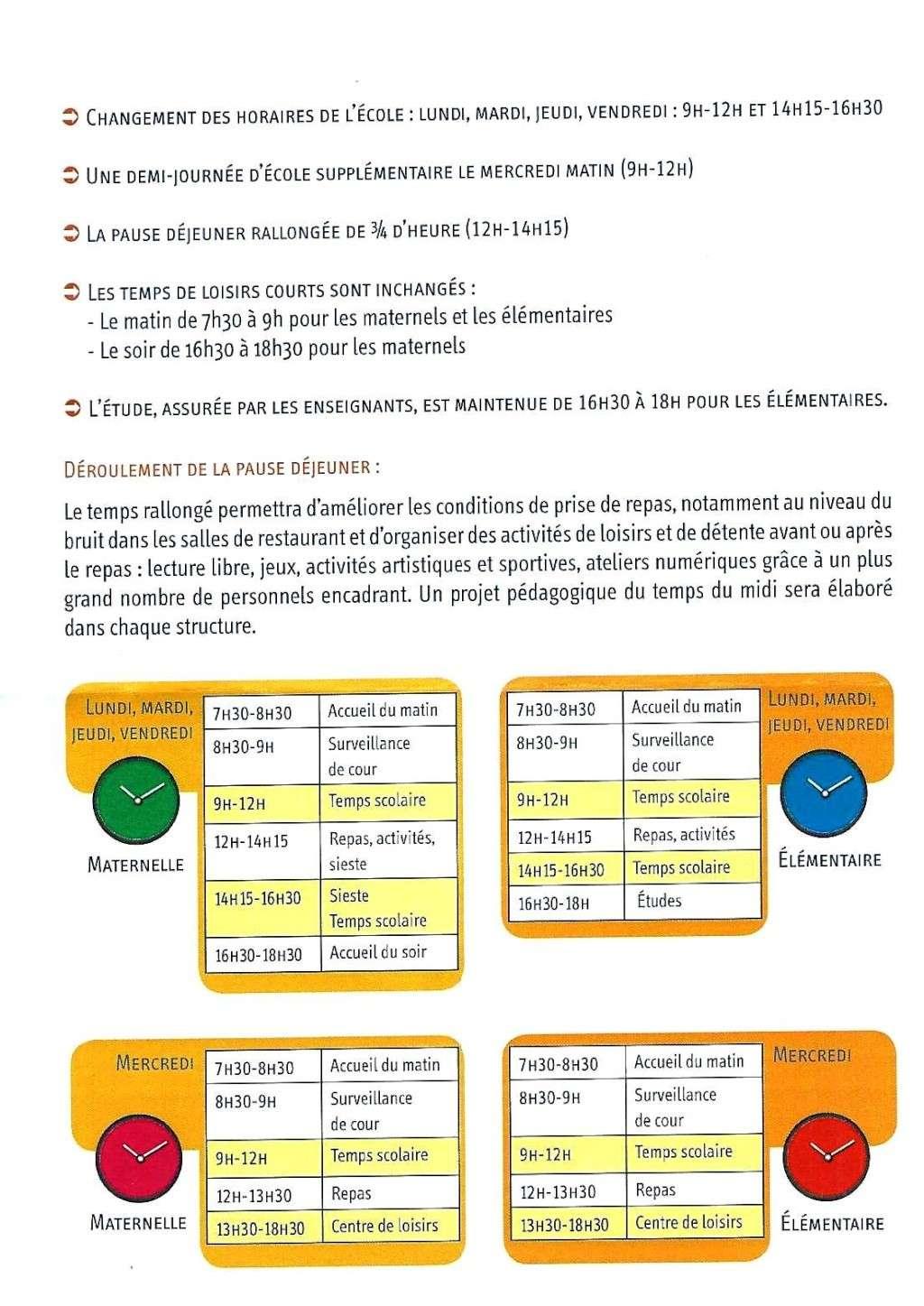 Ecole publique -  Le Maire écrit à l'Inspectrice d'Académie (DASEN) Horair11
