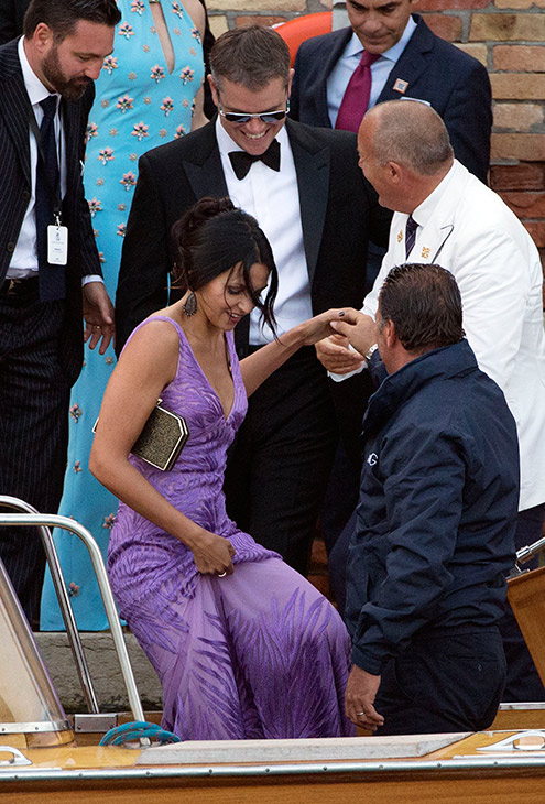 George Clooney, Amal Alamuddin Get Married 09271411