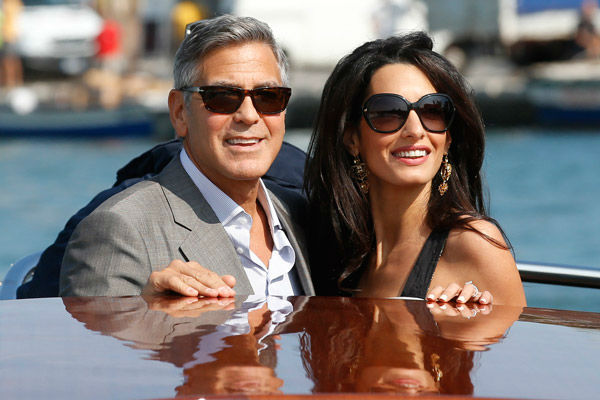 George Clooney, Amal Alamuddin Get Married 09281410