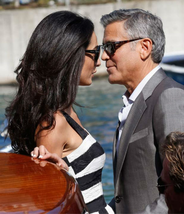 George Clooney, Amal Alamuddin Get Married 09281419