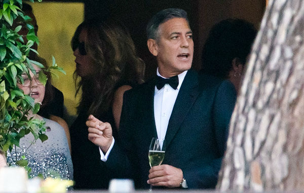 George Clooney, Amal Alamuddin Get Married 09281420