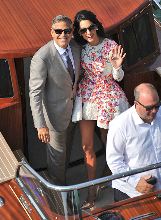 George Clooney, Amal Alamuddin Get Married - Page 2 09281424