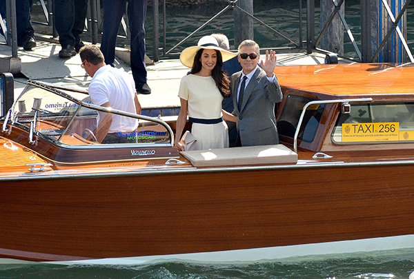 George Clooney, Amal Alamuddin Get Married - Page 2 09291410