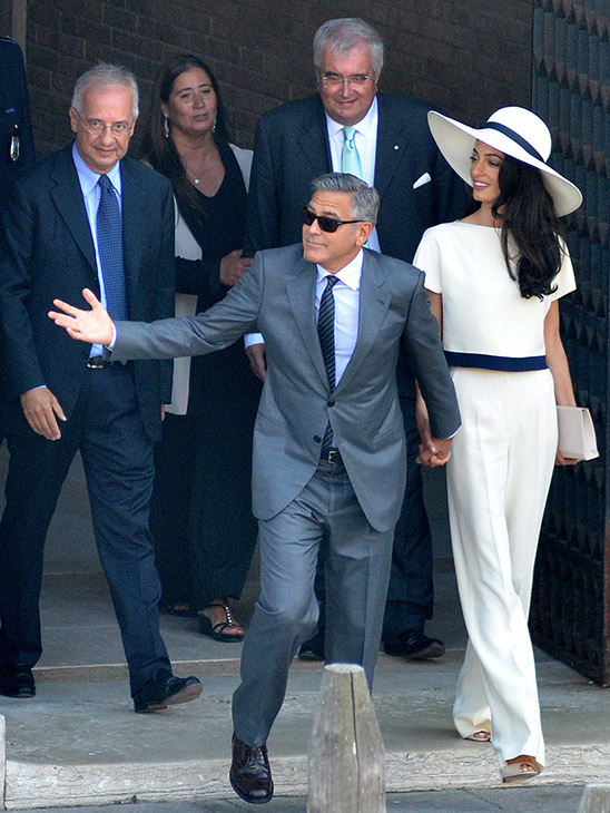 George Clooney, Amal Alamuddin Get Married - Page 2 09291411