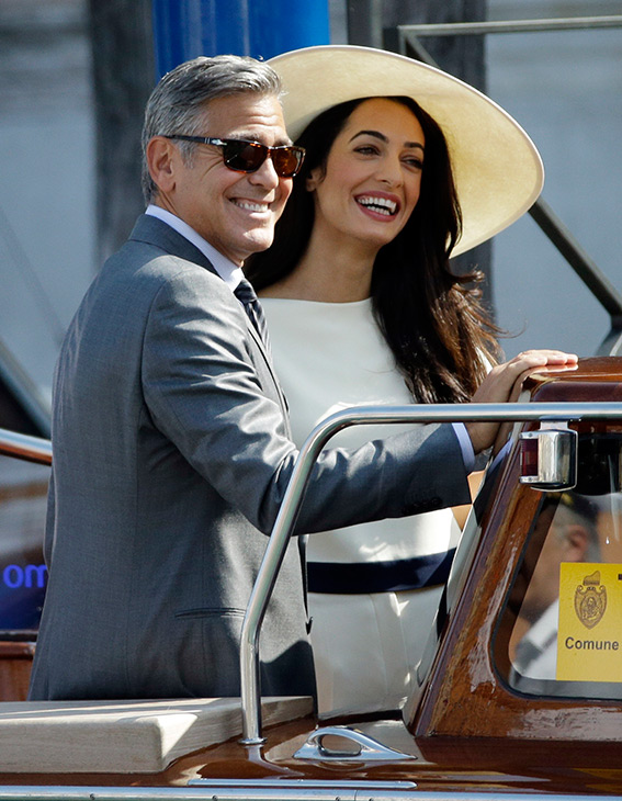 George Clooney, Amal Alamuddin Get Married - Page 2 09291412