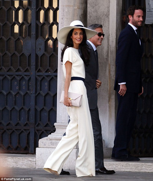 George Clooney, Amal Alamuddin Get Married - Page 2 14120710