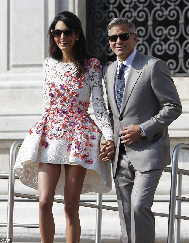 George Clooney, Amal Alamuddin Get Married - Page 2 14120712