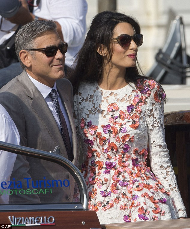 George Clooney, Amal Alamuddin Get Married - Page 2 14120713