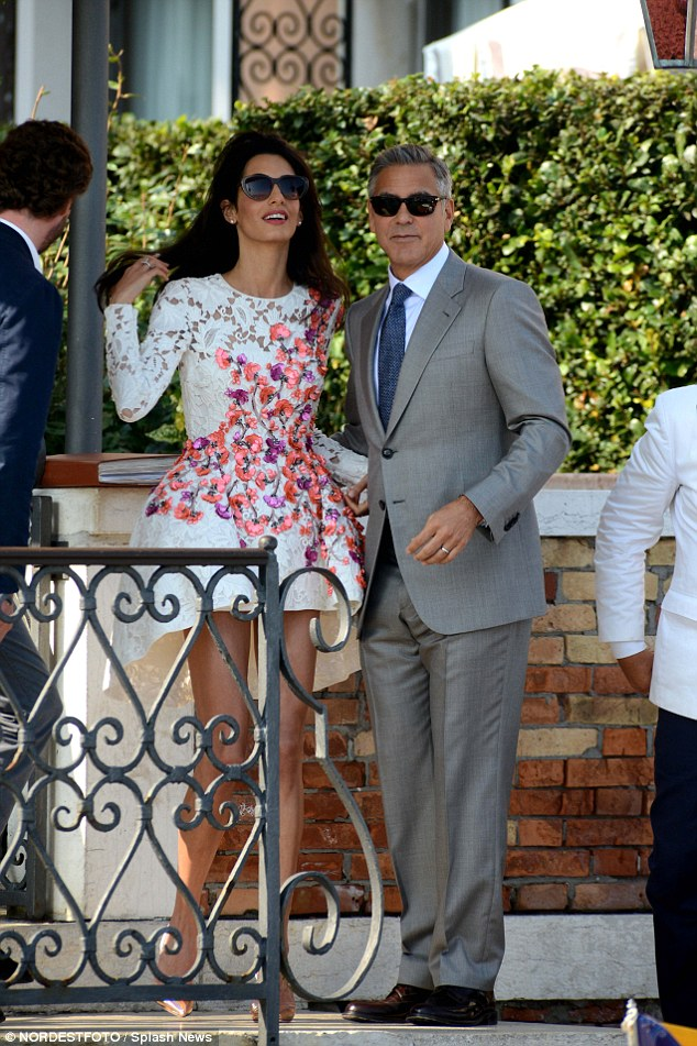George Clooney, Amal Alamuddin Get Married - Page 2 14120714