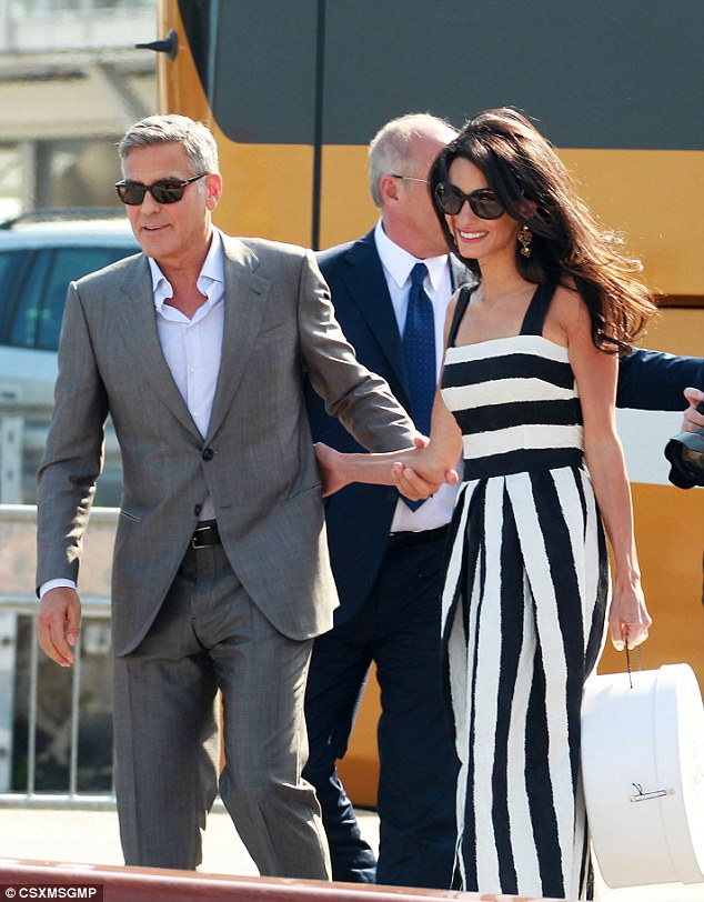 George Clooney, Amal Alamuddin Get Married - Page 3 14120717