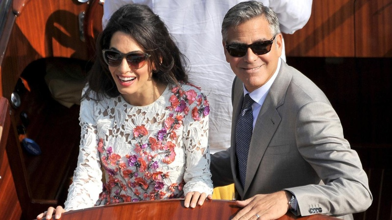 George Clooney, Amal Alamuddin Get Married 32913210