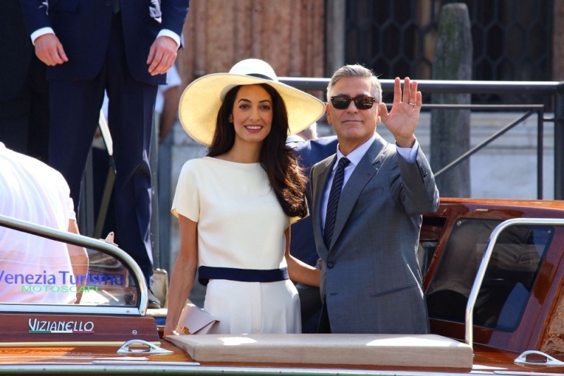 George Clooney, Amal Alamuddin Get Married - Page 2 Amalal14