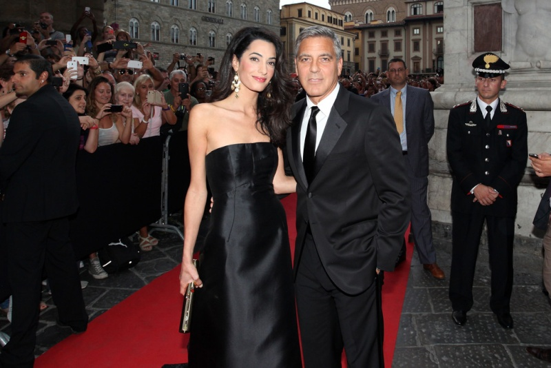 George Clooney, Amal Alamuddin Get Married George10