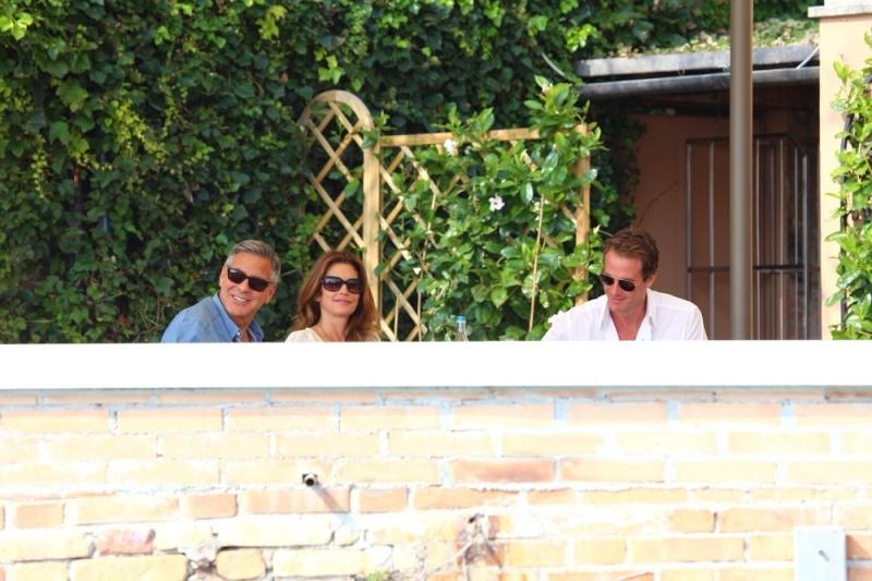 George Clooney, Amal Alamuddin Get Married George13