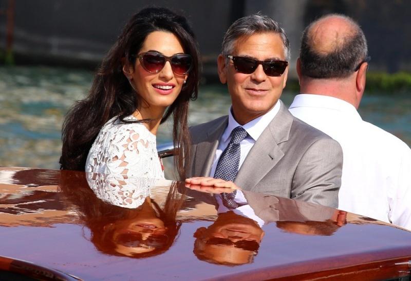 George Clooney, Amal Alamuddin Get Married - Page 2 George15