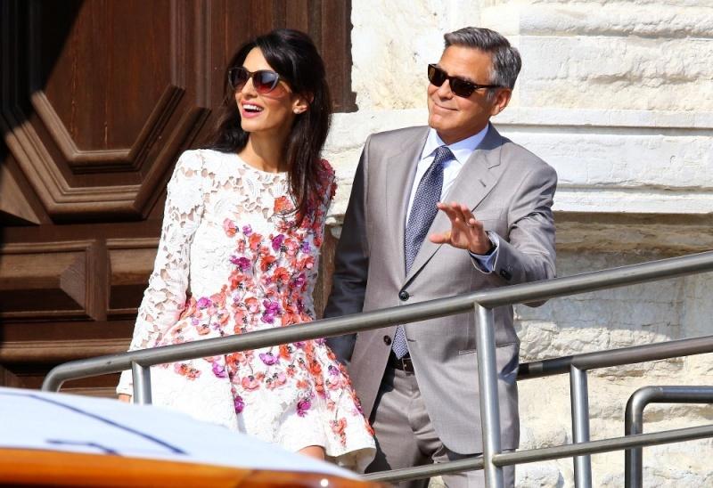 George Clooney, Amal Alamuddin Get Married - Page 2 George16