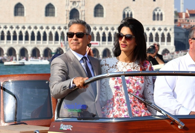 George Clooney, Amal Alamuddin Get Married - Page 2 George17