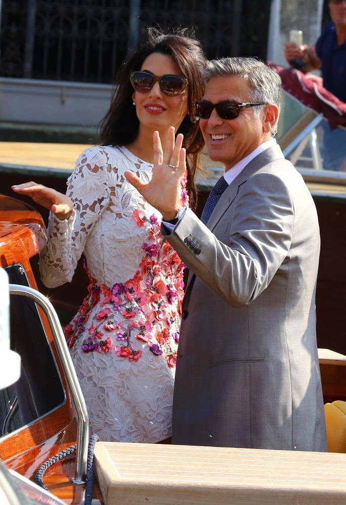 George Clooney, Amal Alamuddin Get Married - Page 2 George19