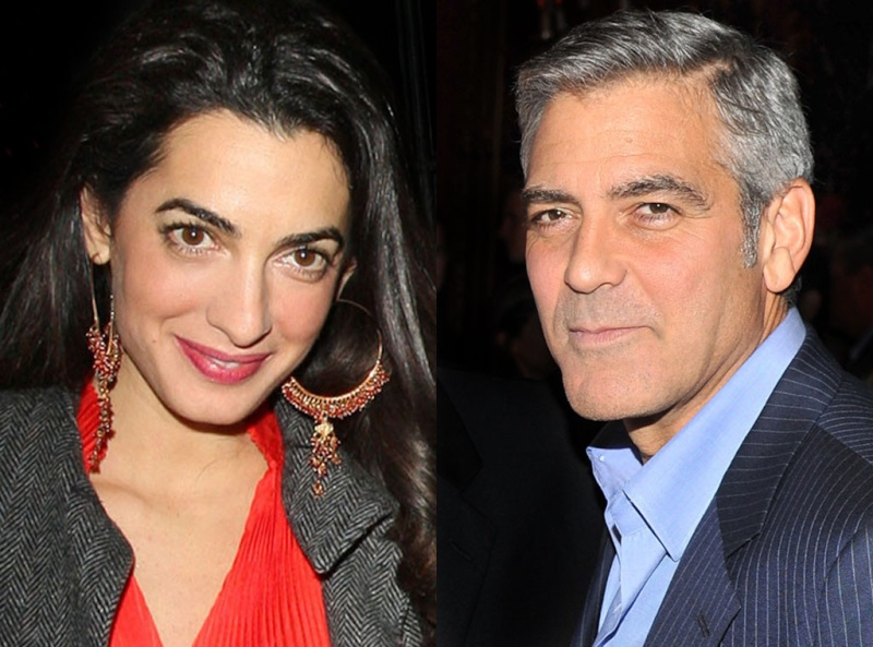 George Clooney, Amal Alamuddin Get Married Rs_10210