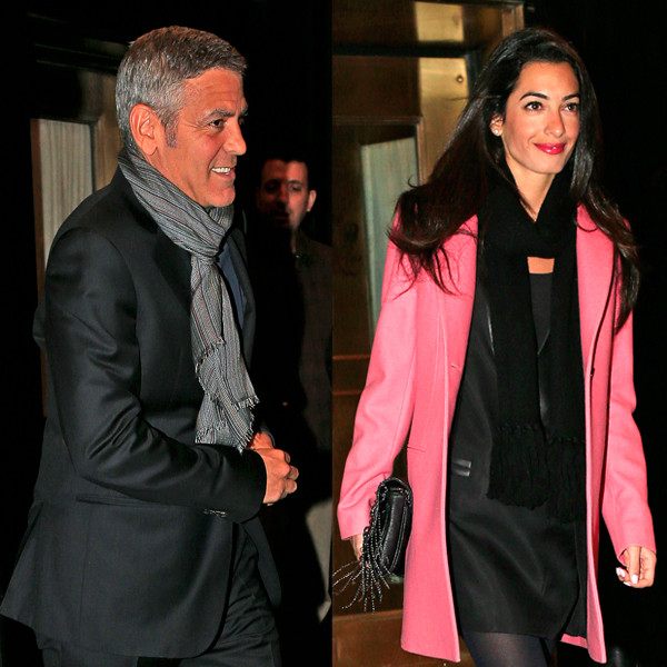 George Clooney, Amal Alamuddin Get Married Rs_60010