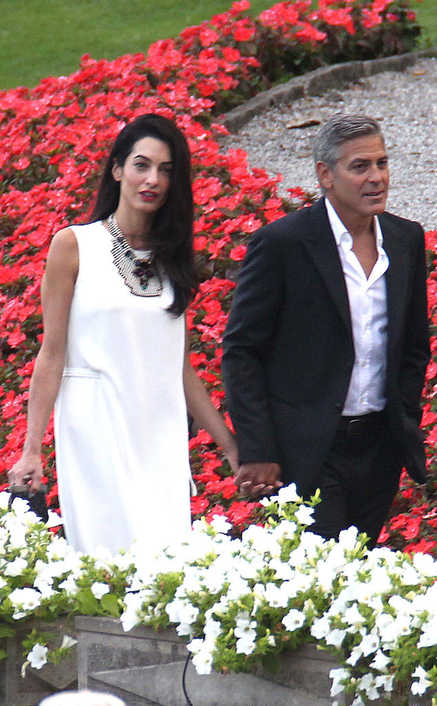 George Clooney, Amal Alamuddin Get Married Rs_63411