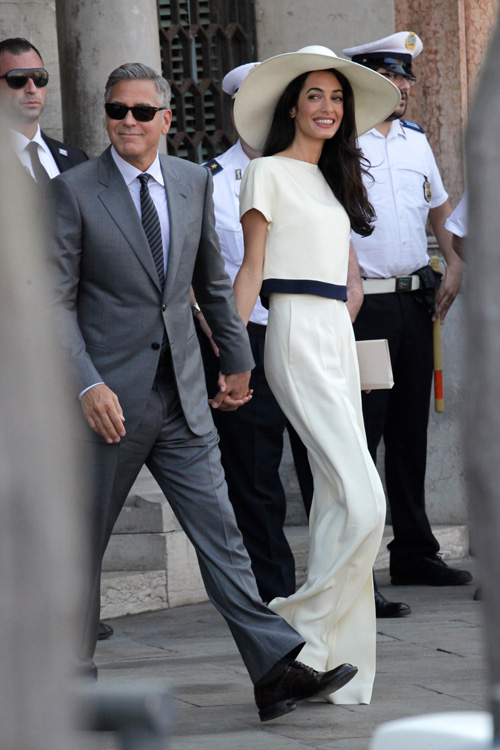 George Clooney, Amal Alamuddin Get Married - Page 3 Wenn2111