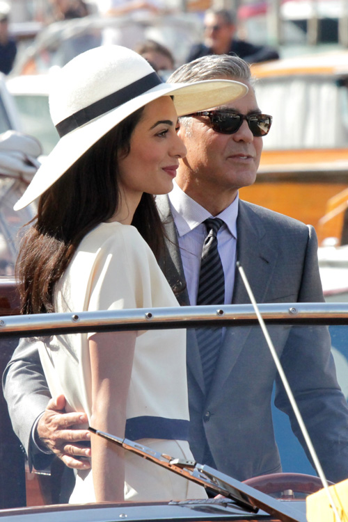 George Clooney, Amal Alamuddin Get Married - Page 3 Wenn2112