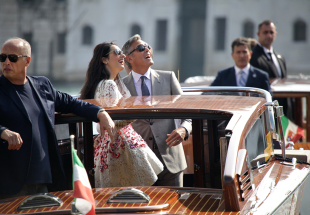 George Clooney, Amal Alamuddin Get Married - Page 3 Wenn2114