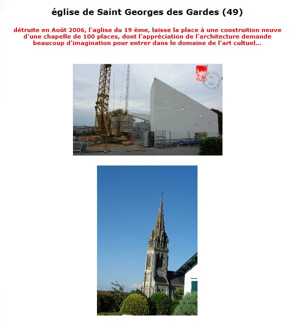 je sors brièvement de ma torpeur   SOS nos églises de France (5000) 2014-117