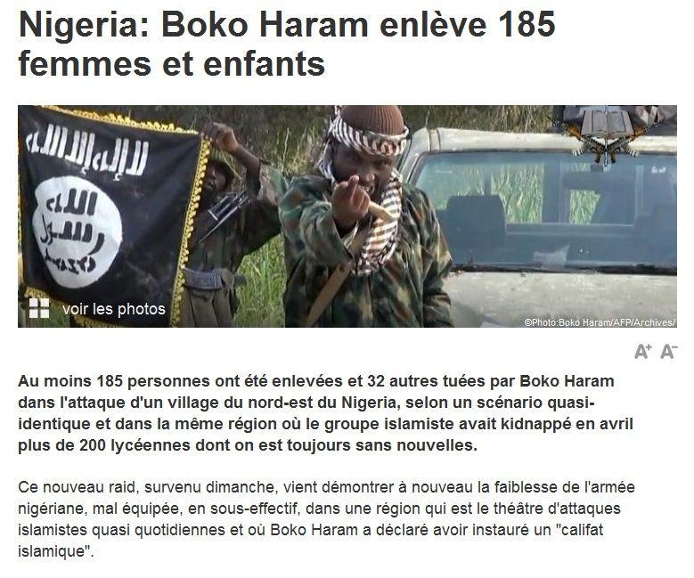 NIGERIA... ça continue... 2014-124