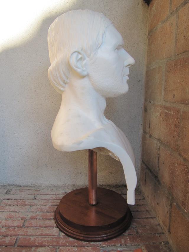 Buste Indiana Jones 1/1 . Howard Senft . Img_4612