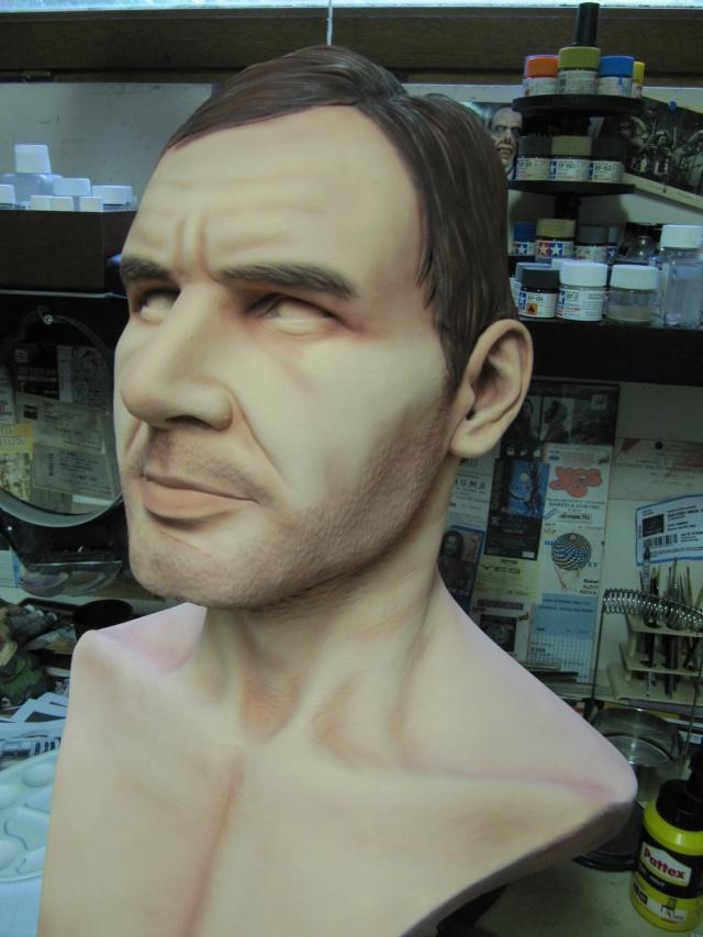 Buste Indiana Jones 1/1 . Howard Senft . Img_4616