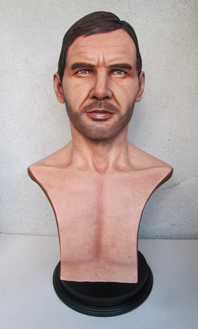 Buste Indiana Jones 1/1 . Howard Senft . Img_4715