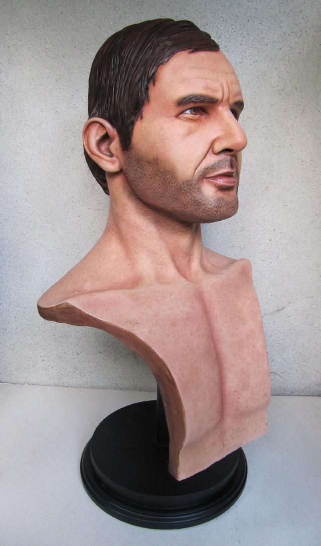 Buste Indiana Jones 1/1 . Howard Senft . Img_4716