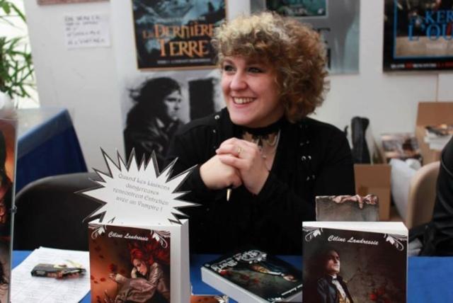 Interview de Céline Landressie + extrait du tome 3, Flétrissures 97009610