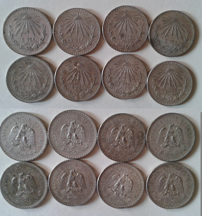 Ayuda valoracion de mis monedas de plata Pesos10