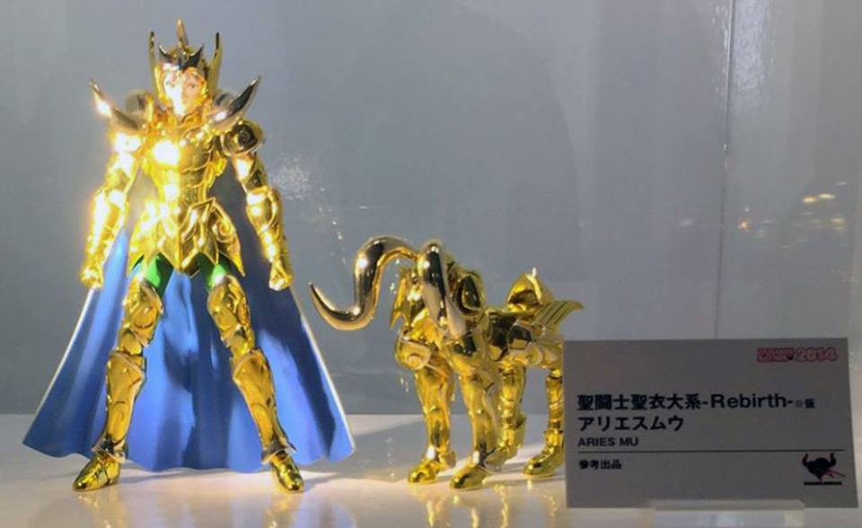 Saint Cloth Series -Rebirth- Aries Mu Kh101110