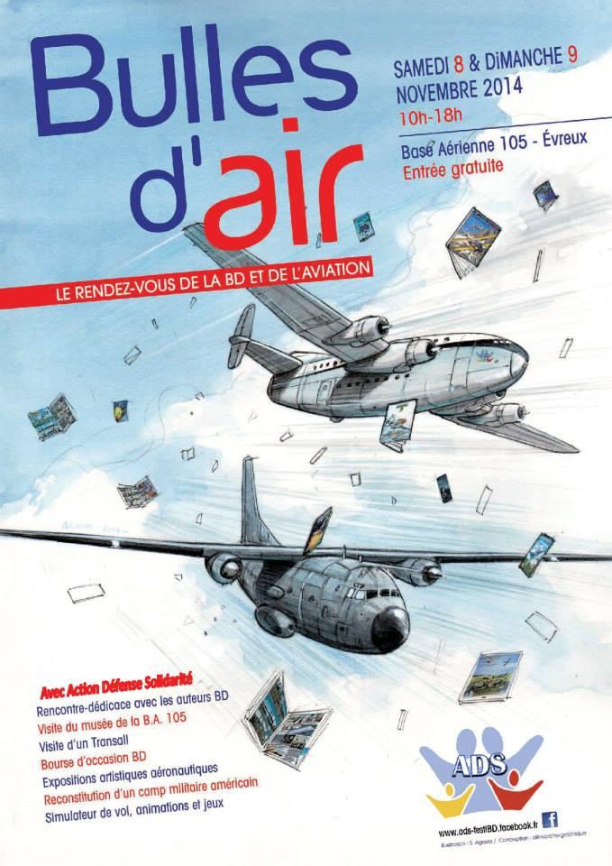 8 & 9 novembre: salon BD aviation sur la BA d'Evreux 10635911