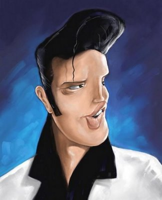 Caricatures - Page 25 Elvis-10