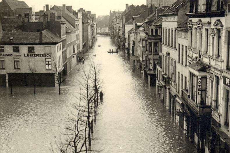Ostende 1953 Innondations - Page 3 Inonda12